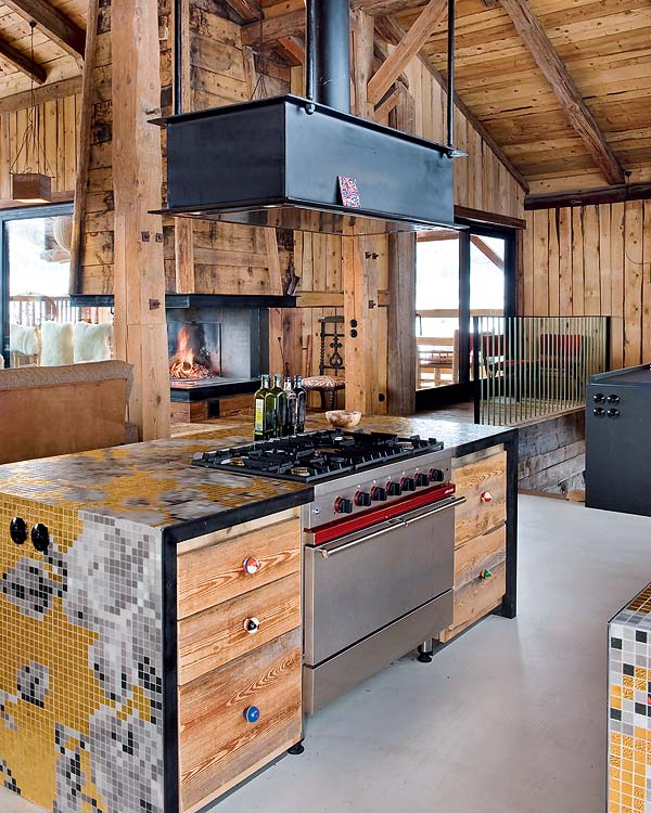 A Bohemian Chalet In The Alps
