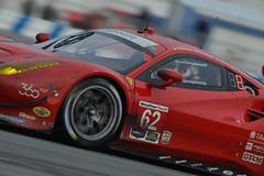 Risi Competizione Ferrari 488 GTE  at daytona 24 2016 during RACE