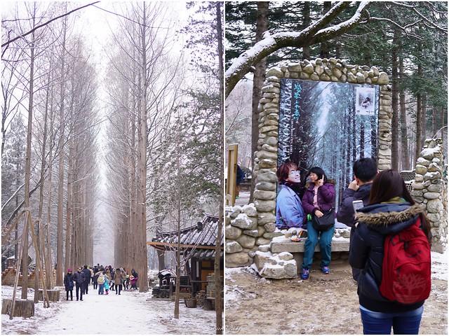 Korean drama scenery