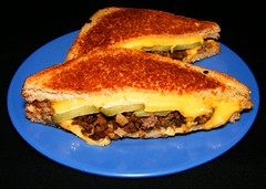 Bison Loose Meat & Grilled Cheese Sandwich
