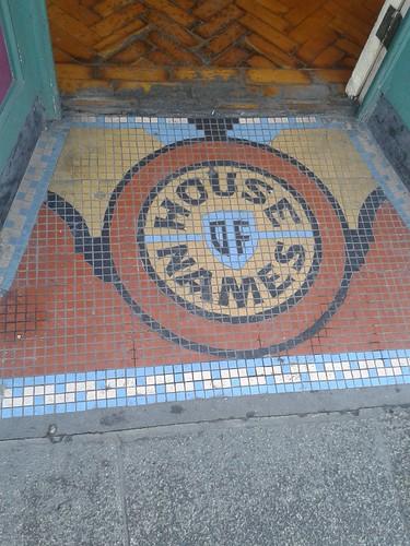 House of Names Entranceway Mosaic, Dublin