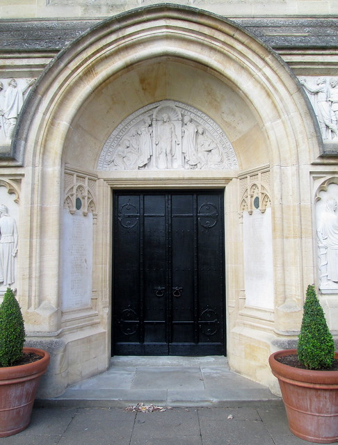 Oakham School War Memorial Doorway.