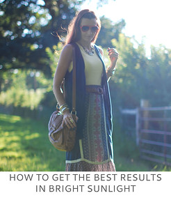 Not Dressed As Lamb | How to Get the Best Results in Bright Sunlight