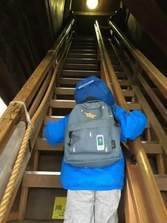 Zenkoji gate stairs