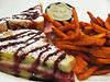 Monte Cristo with Sweet Potato Fries