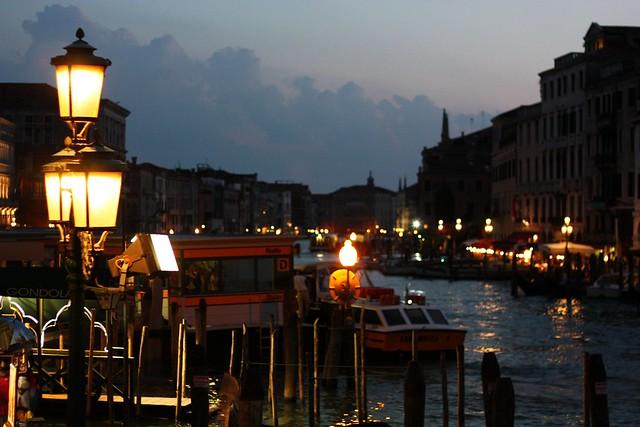 [036/366] Abend am Canale Grande