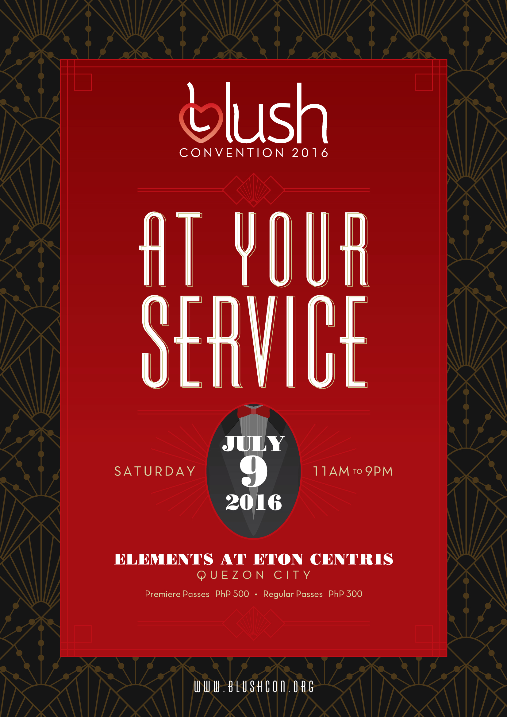 BLush Convention 2016: At Your Service