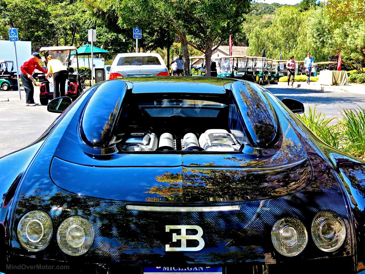 Bugatti Veyron Grand Sport Vitesse Blue Carbon 7