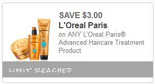 Free L'Oreal Advanced Treatments