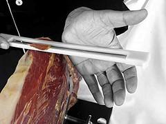 cuchilla para jamon