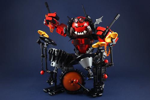 Punk Beast Drummer-3