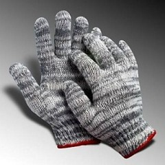 Bán Găng tay sợi len màu xám tại Nghệ An