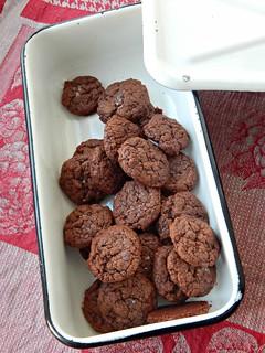 шоколадно-кофейное печенье с нутеллой, пошаговый фоторецепт | HoroshoGromko.ru