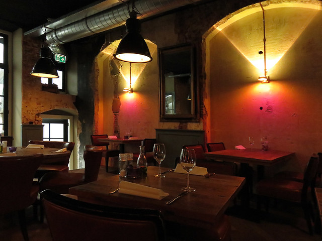 Interior lighting at the Ubica Pub in Utrecht, Holland