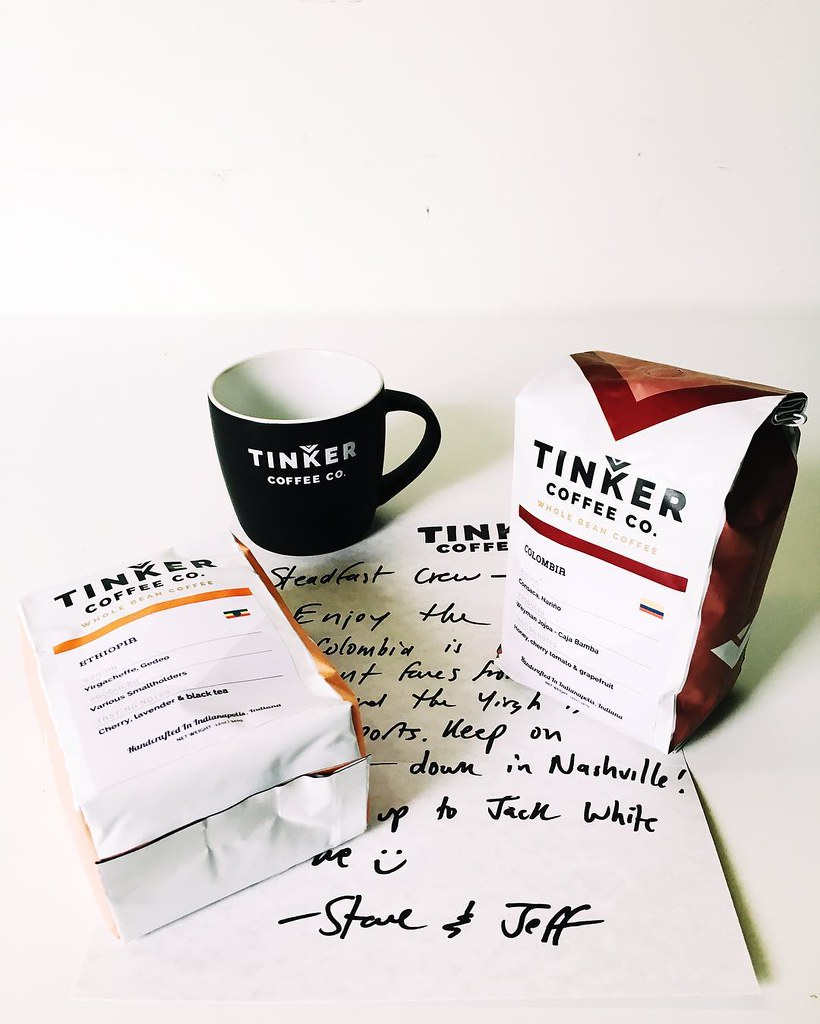 The great folks from @tinkercoffee in Indianapolis sent us… | Flickr