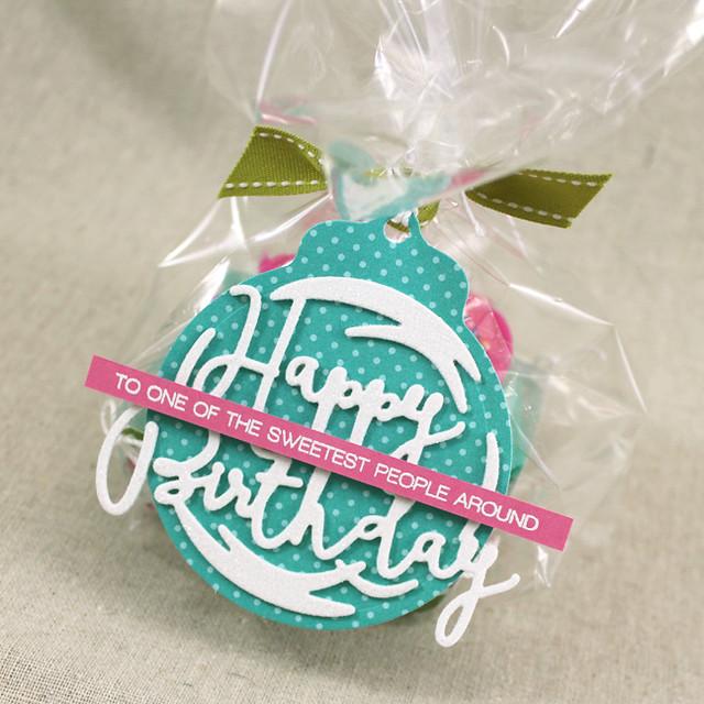 Cupcake Tray Tag