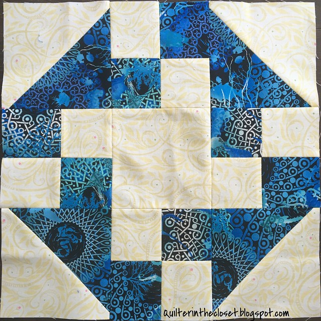 Prairie Queen block for Pam