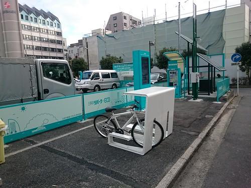 自転車用ワーキングデスク