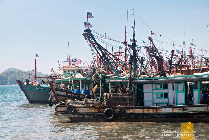 Kota Kinabalu Waterfront Boats