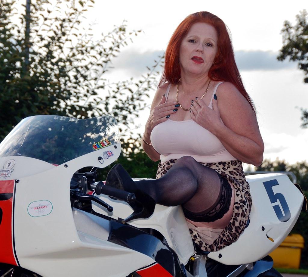 Biker babe nudes mature