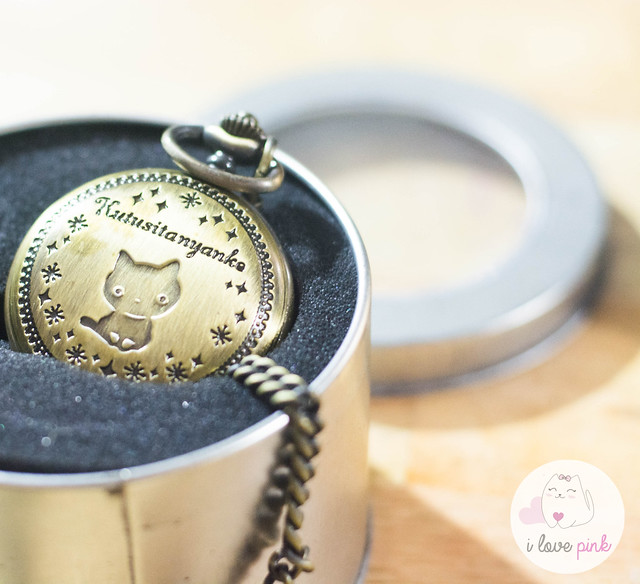 Kutusita Nyanko Pocket Watch
