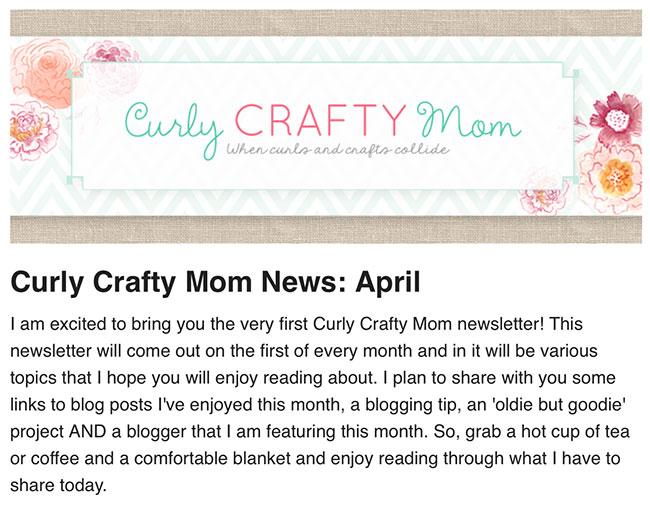 CurlyCraftyNews
