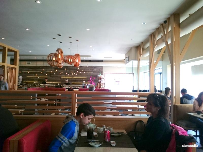 The inside of Hibiki Japanese Cuisine