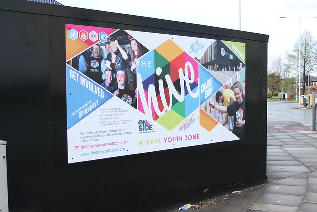 Wirral Youth Zone Hoardings