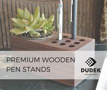 Dudek Modern Goods: Premium Wooden Pen Stands