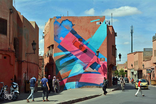 Marrakech Biennale MB6 Street Art