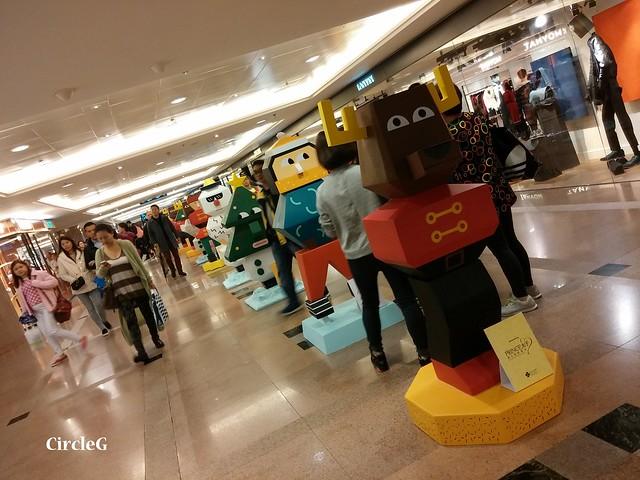港威中心 hongkong tst 尖沙咀2015 CIRCLEG 聖誕裝飾  (4)