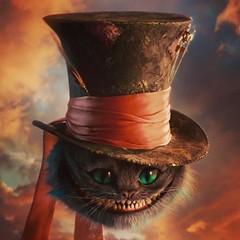 stregatto con cappello del cappellaio matto 😺🎩  stregatto  cheshirecat   chatfouin  gatodecheshire ... 748d7b0611ff