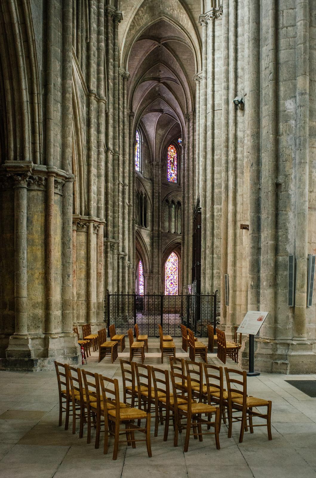 Carnet de voyage en Sologne - Sous les voûtes de la cathédrale de Bourges