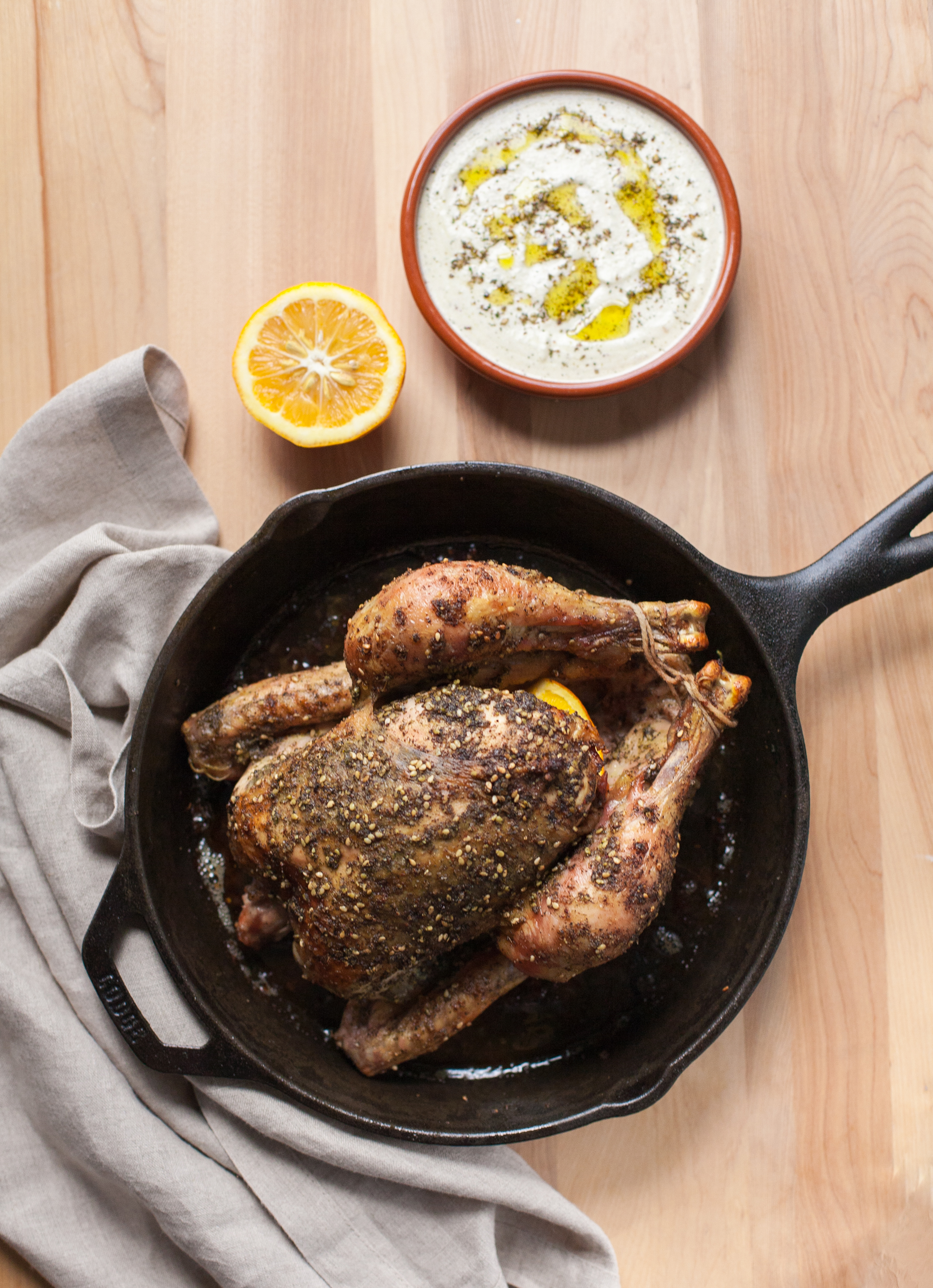 Roast Chicken with Za'atar