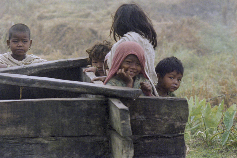 Tharu village - Nepal 1981