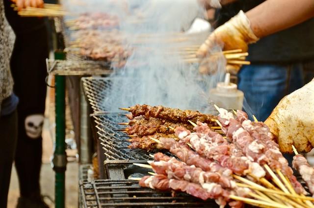 asian american expo shen yang lamb kebabs