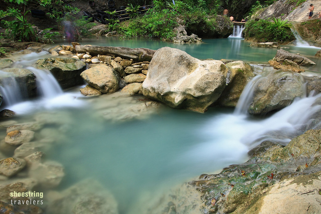 small cascades and pool at Daranak Falls