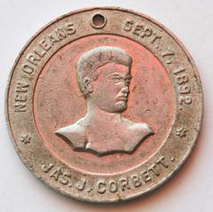 Sullivan-Corbett medalet obverse
