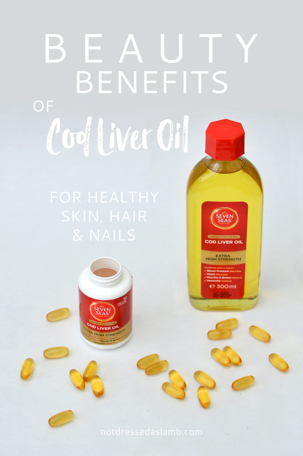The beauty benefits of cod liver oil for healthy skin, hair and nails | Not Dressed As Lamb