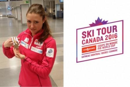 Petra Nováková přiletěla z MS do 23 let a rovnou zamíří na Ski Tour Canada