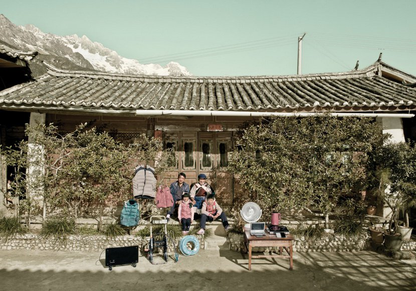 網購家當︰中國偏遠居民在淘寶買的所有物9