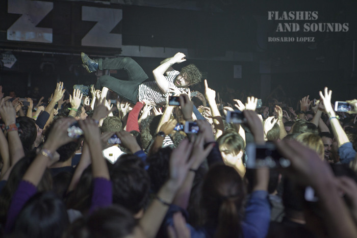 Foals en concierto en Barcelona