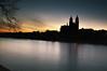 Magdeburg at night