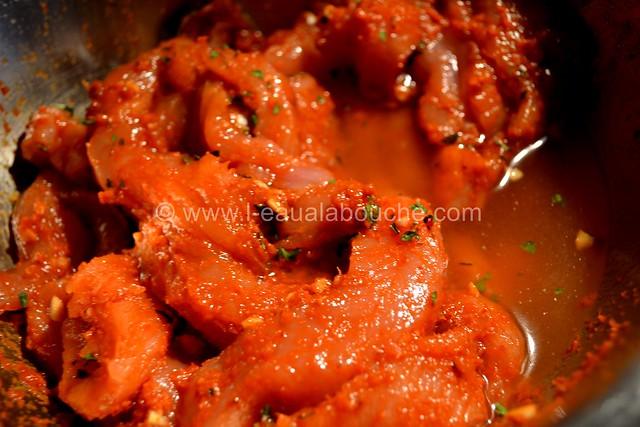 Brochettes de Dinde au Curry Rouge et Ananas © Ana Luthi Tous droits réservés 0004
