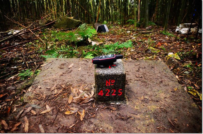 大原山三等三角點(# 4225 Elev. 371 m) 1