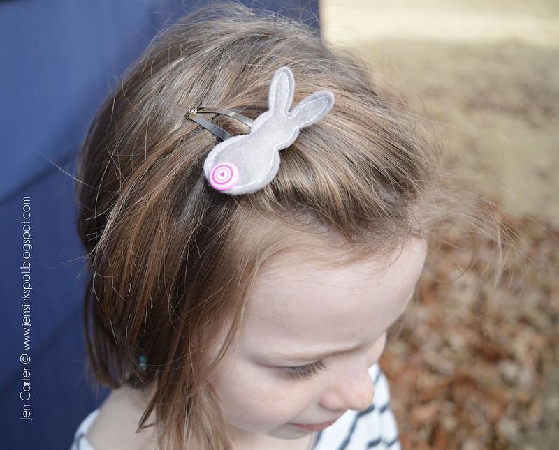 Jen Carter Sadie Bunny Button