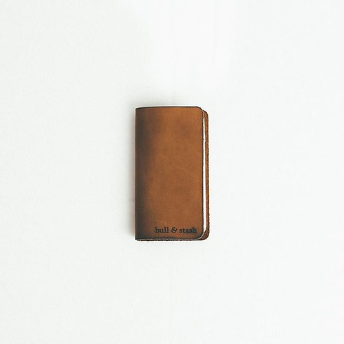 Bull & Stash Original Brown Leather Notebook