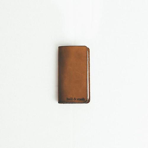 Bull & Stash Original Brown Leather Notebook