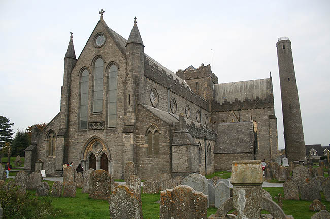 Saint Canice Cathedral. © Paco Bellido, 2007