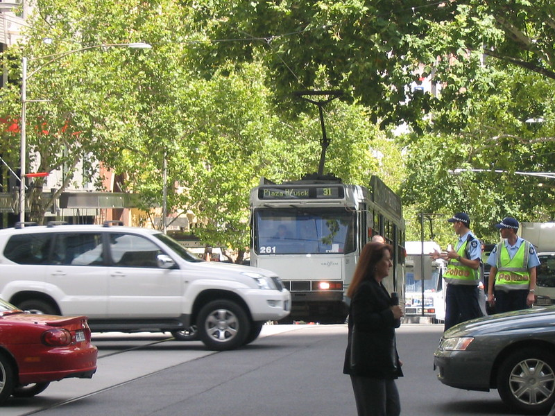 Collins Street, February 2006